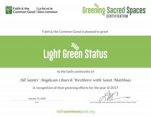 GSS certificates - light green