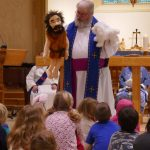 Puppets at All Saints Westboro