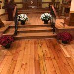 Restored Chapel floor, Oct. 2020