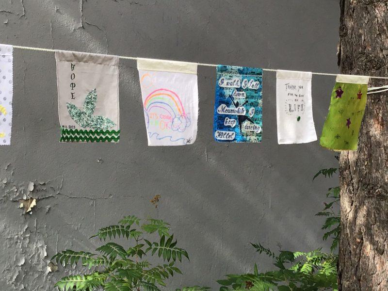 Prayer Flag Project, October 2020