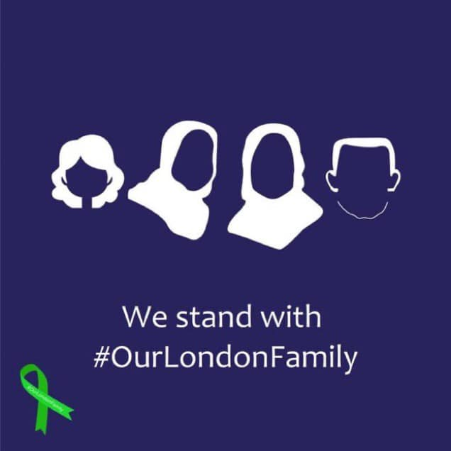 We stand with #OurLondonFamily